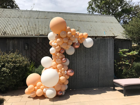 Organic balloons for your next Christening, 21st or Wedding, Wollongong