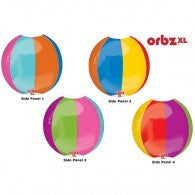 Beach Ball Orbz Foil Balloon #30486