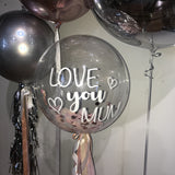 LOVE you MUM Confetti Bubble Balloon