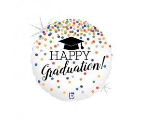 Happy Graduation Foil 45cm Balloon #2536551