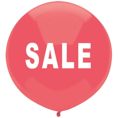 Sale Print Red 17inch Balloon