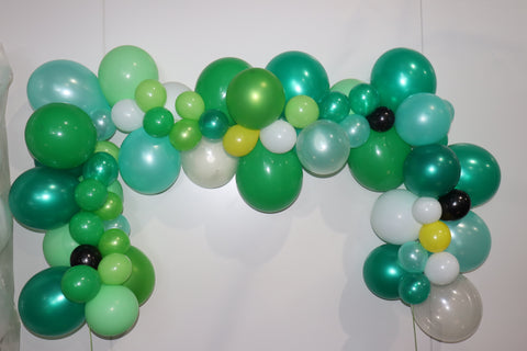 Organic ballon backdrop