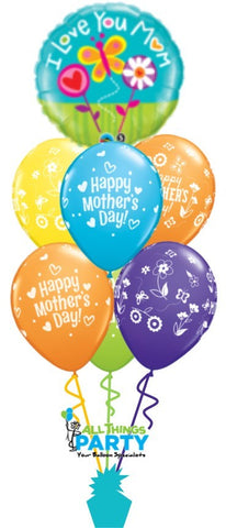 Mother's Day I Love You Mum Splendor Bouquet