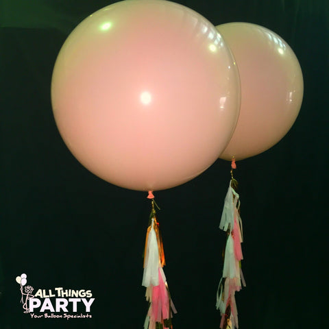 3ft Tassel Helium Filled Balloon