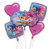 Shimmer & Shine Foil Balloon Bouquet Kit #33943