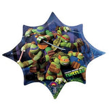 Teenage Mutant Ninja Turtles Foil Supershape #26430