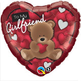 Girlfriend Heart Foil 45cm Balloon #41324