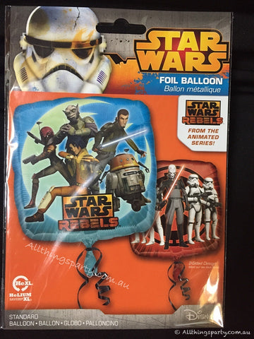 Star Wars Balloon Rebels Foil Balloon 45cm #29948