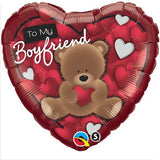 Boyfriend Heart Foil 45cm Balloon #41320