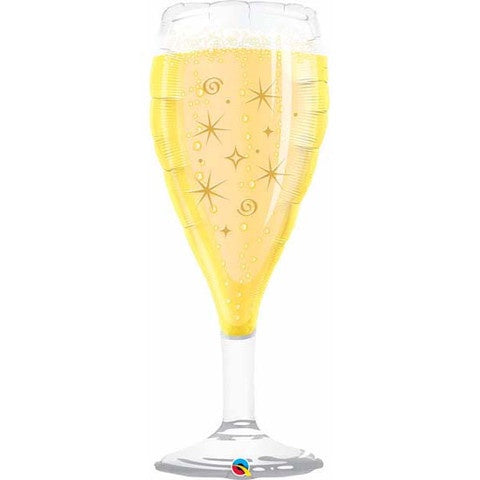 Champagne Glass Foil Supershape Balloon #16269