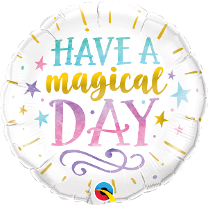Have a Magical Day Foil 45cm Balloon #57262