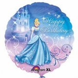 Cinderella Princess Foil 43cm Happy Birthday u24815