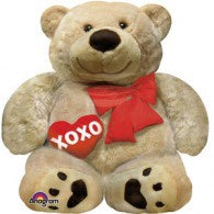 Cuddly Bear Love XOXO Foil Supershape Balloon #23215
