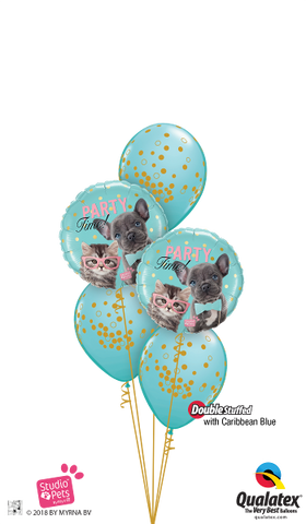 Cute n Fluffy Pets Dazzler Balloon Bouquet