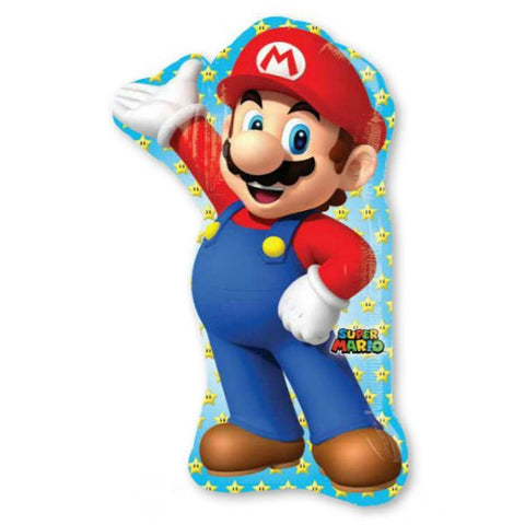 Super Mario Brothers Character Foil Supershape