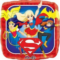 Super Hero Girls Foil 43cm Balloon #33223