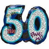 50th Birthday Foil Supershape OH NO Balloon #116051
