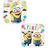 Minions Foil Hooray Balloon #36159