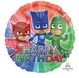 PJ Masks Foil Happy Birthday Balloon #34673