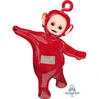 Teletubbies Foil Supershape Po Red Balloon #34610