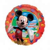 Mickey Mouse Foil Balloon Happy Birthday 45cm #14055
