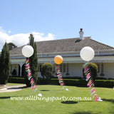 Giant Wedding Tassel Balloon -Each