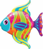 Fanciful Fish Foil Supershape Balloon #16448