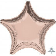 "Rose Gold Star Foil 18"" Anagram #36187"