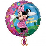 Minnie Mouse Happy Birthday Foil 43cm Balloon #17797