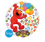 Elmo Foil Singing Balloon #21716