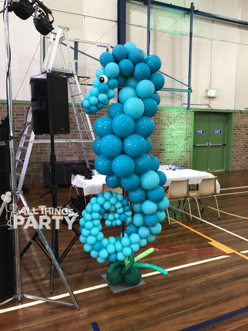 Sea Horse Balloon Sculpture