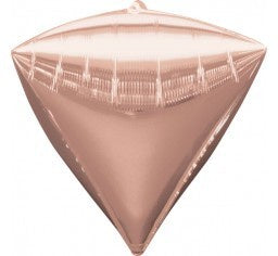 Rose Gold Foil Diamondz Balloons #36184