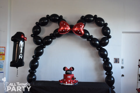 Mouse Ears Balloon Arch