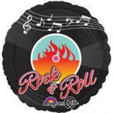 Rock & Roll Foil 45cm Balloon #27456