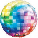 Disco Ball Foil Supershape Balloon  #27463