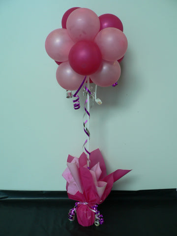 Balloon Topiary Tree Table Centrepiece