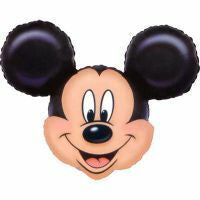 Mickey Mouse Foil Supershape Head Balloon #07764