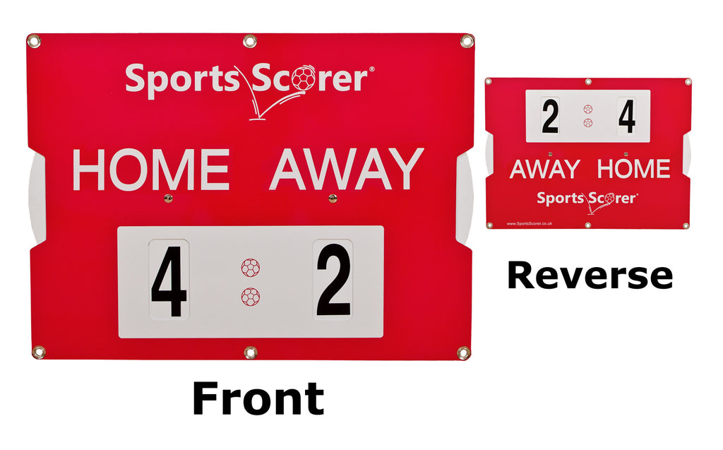 Double Sided Portable Football Scoreboard