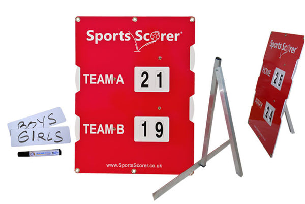 Sports Scoreboard with Stand and Name Plates