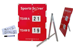 Multi Sports Scoreboard with Stand and Name Plates