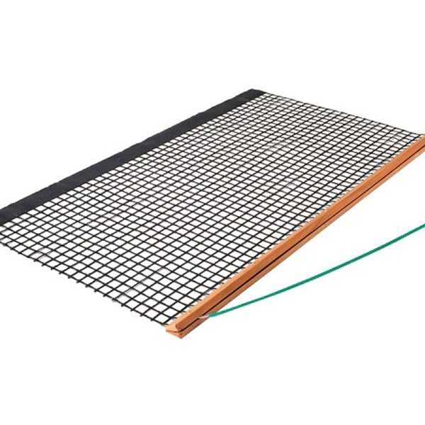 Clay Court DRAG MAT WOOD - Single Layer