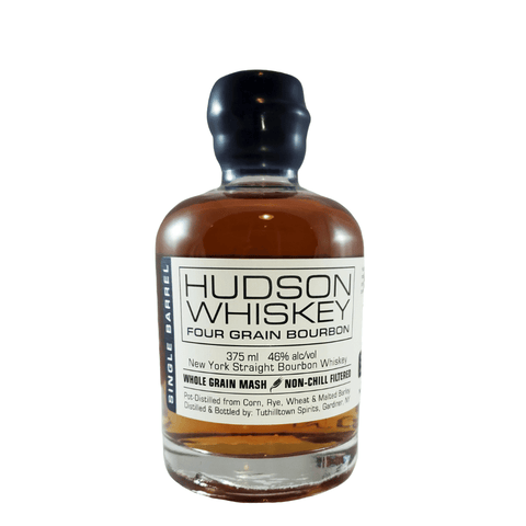 Hudson Whiskey Four Grain Bourbon Bottle