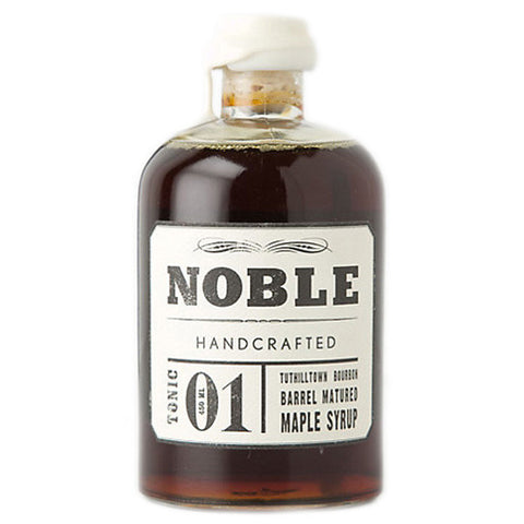 Noble Barrel Aged Maple Syrup