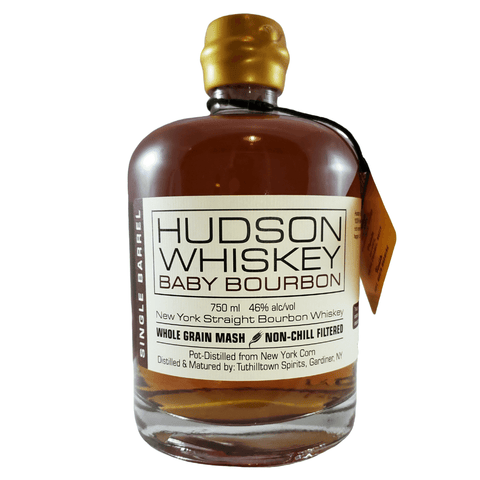 Hudson Whiskey Baby Bourbon Single Barrel Bottle 750ml