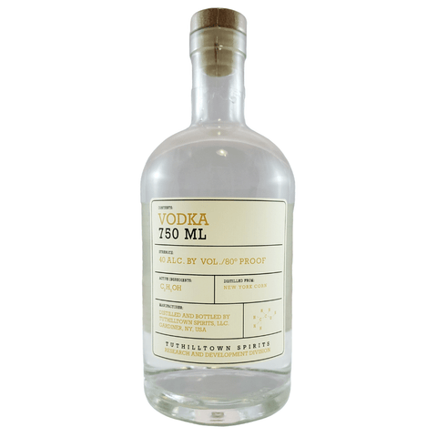 Tuthilltown Corn Vodka 750ml Bottle