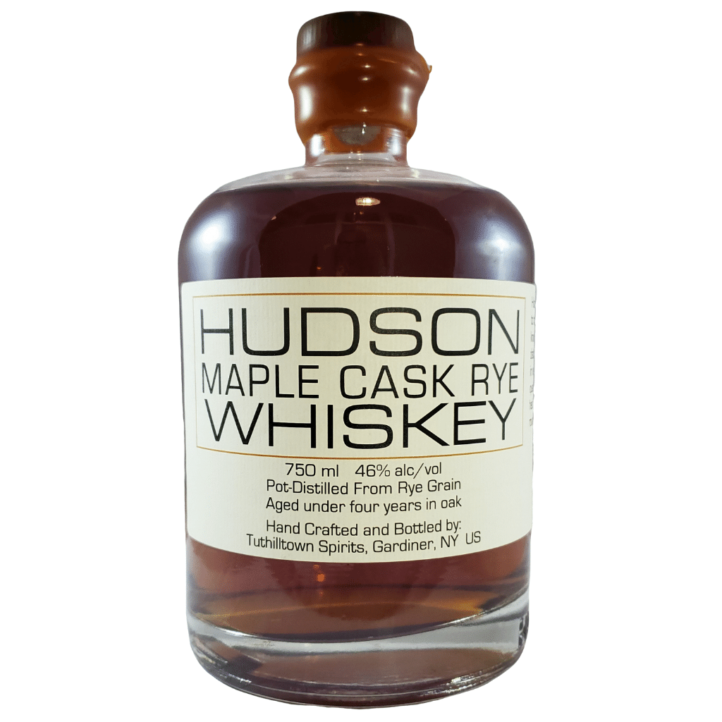 Hudson Whiskey Maple Cask Rye Bottle