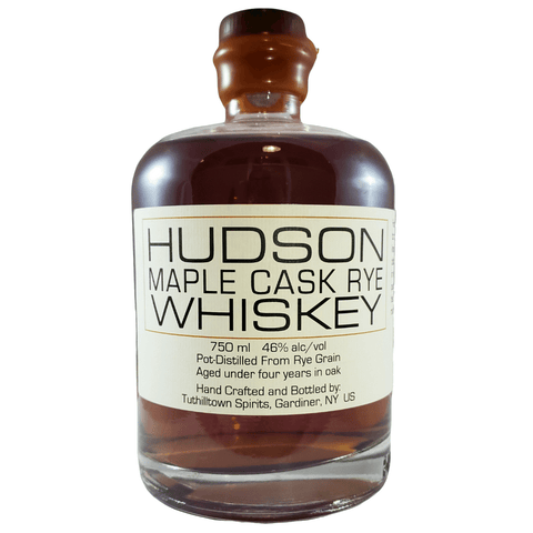 Hudson Whiskey Maple Cask Rye 750ml Bottle