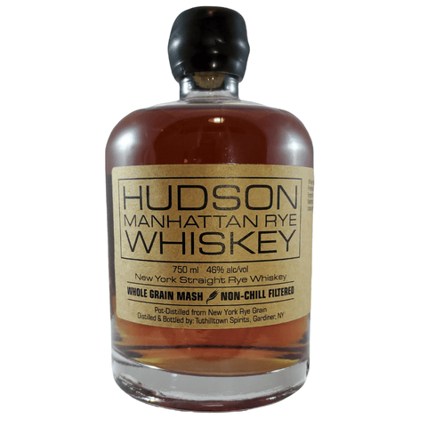 Hudson Whiskey Manhattan Rye 750ml Bottle