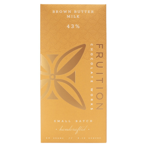 Fruition Brown Butter Milk Chocolate Bar