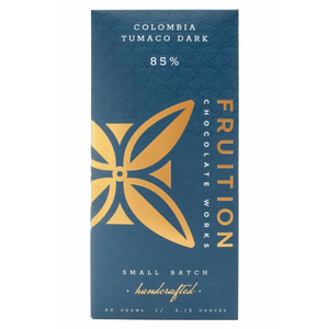 Fruition Colombia Tumaco Dark Chocolate Bar